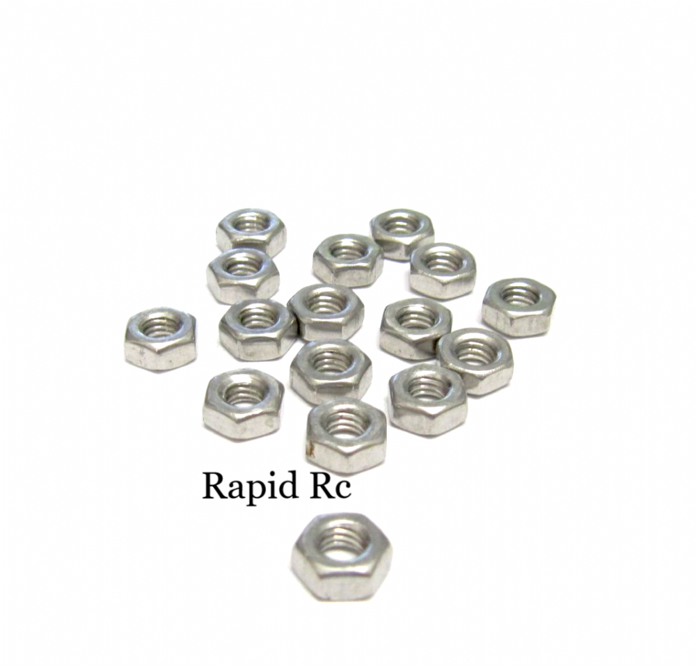 M4 Stainless steel  Hex Nuts A2 Grade